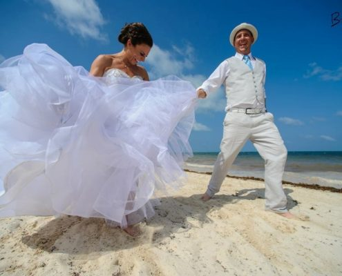 Your perfect destination wedding dress may not be what is traditionally known.