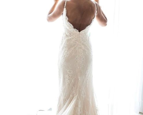 Your wedding dress is the one that makes you feel amazing.