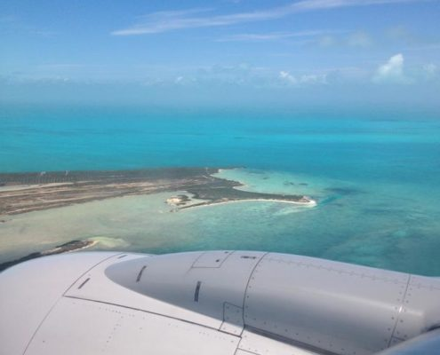 exotic travel planner Turks Caicos by plane