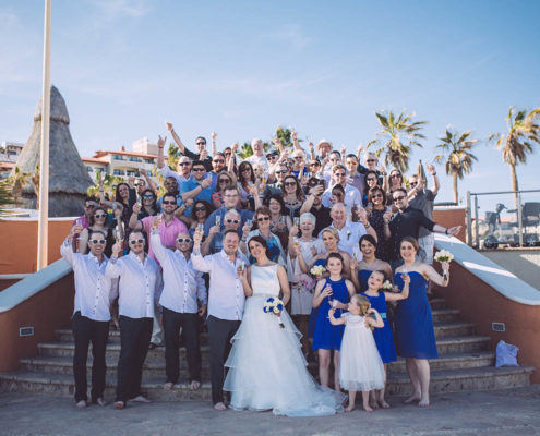 Destination wedding guest planning from Calgary to Cabo