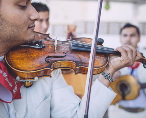 live music at Cabo destination wedding from Calgary